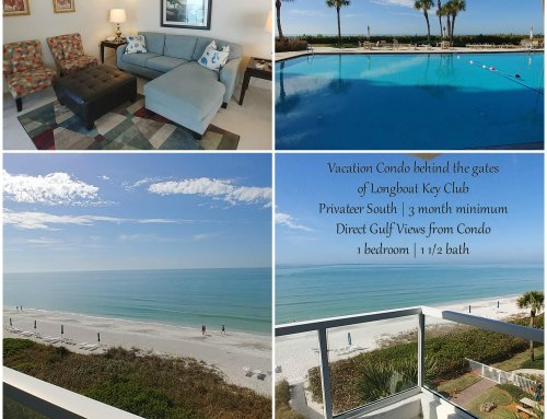 Longboat Key Club Vacation Rental with Beach View
