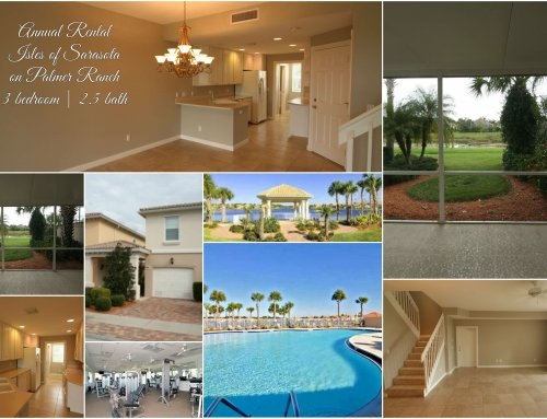 Palmer Ranch Townhome For Rent