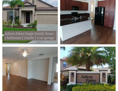Ashton Palms Home For Rent