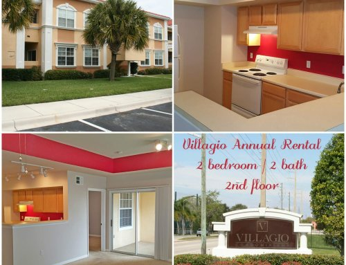 Villagio Annual Rental | 2 bedroom | 2 bath
