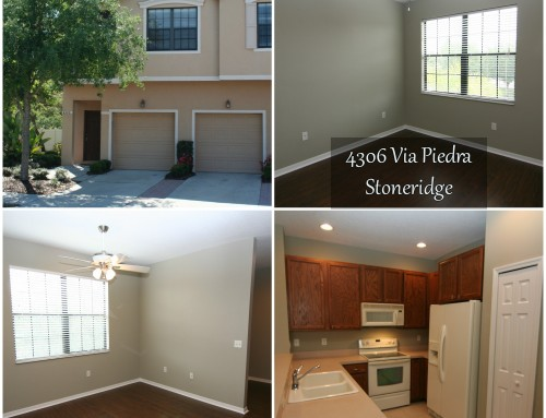 Sarasota Townhome Rental | Available 8/1/17